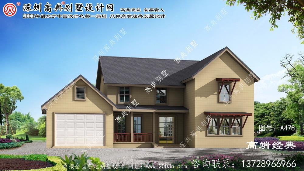 芜湖县两层小别墅设计图纸