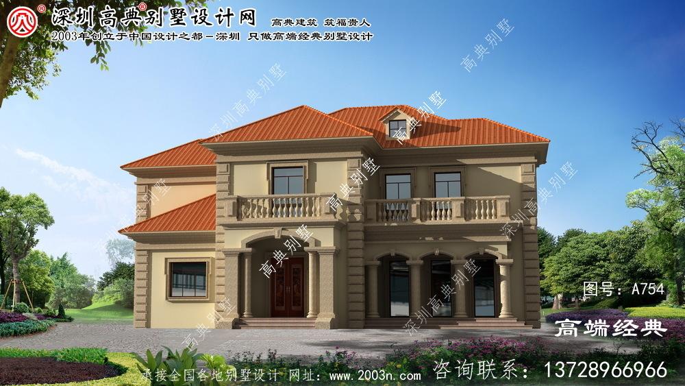 马村区别墅设计图及效果图