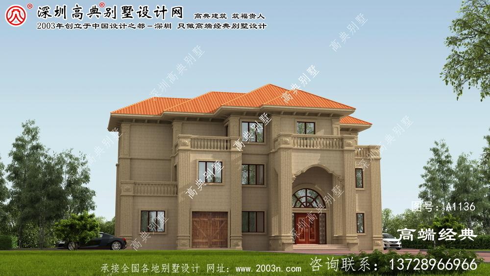 天心区别墅设计图三层