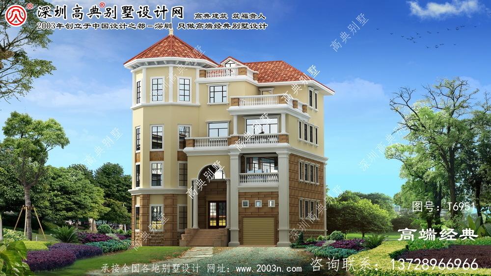 双流县四层别墅设计图大全