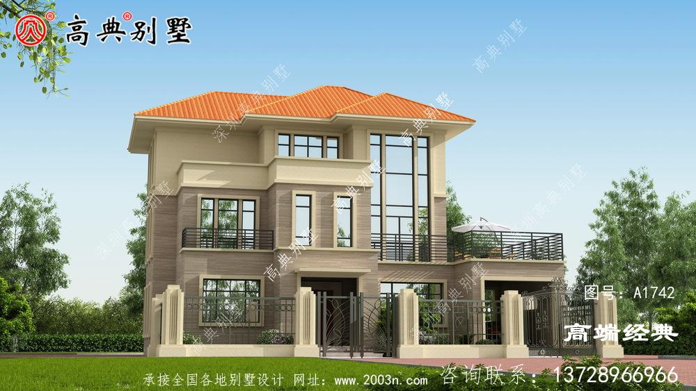 盈江县农村复式别墅