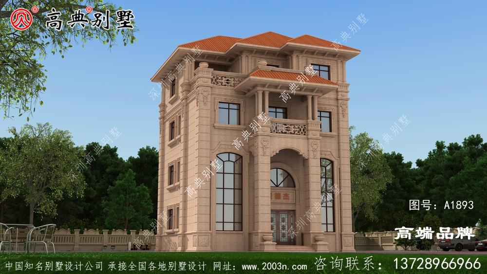 东北农村自建房设计图造型简洁流畅 ,很受欢迎 !