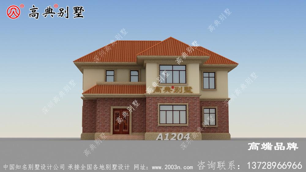 两层别墅设计图合理的利用每一寸的空间