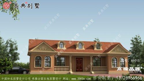 149平联排别墅外观设计