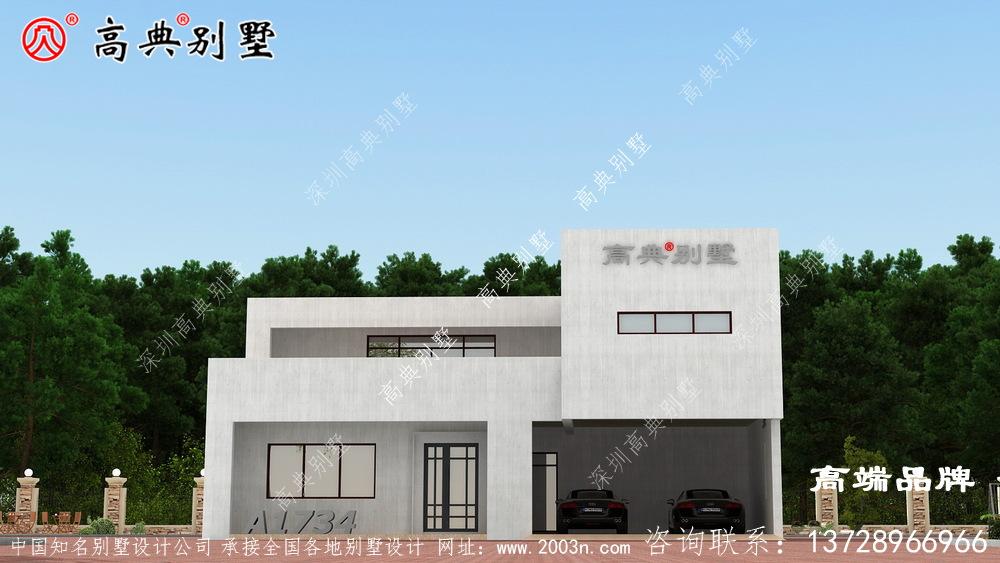 农村自建楼房设计图仅价格经济,布局也非常实用!