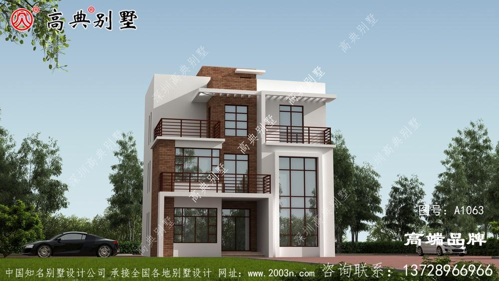 农村三层房子设计图带来高端的生活享受