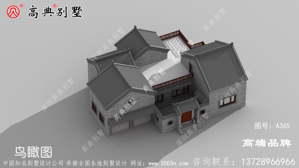 两层建房设计图造型和层次感都非常好