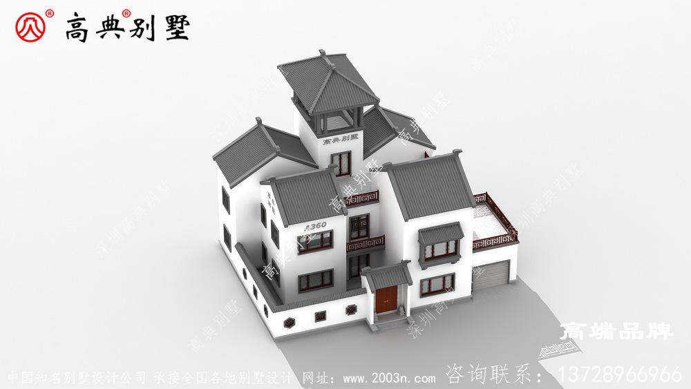 农村房屋设计图小宅基地的福音