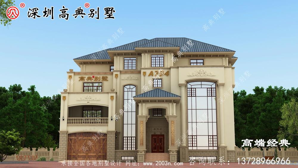 简单实用农村自建房设计图,房子建的再漂亮