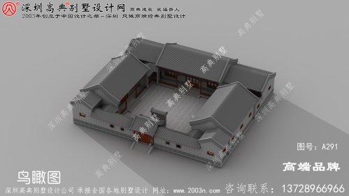 新中式别墅设计图,配