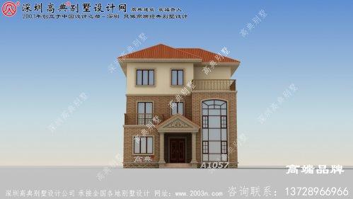 独栋 三层 别墅设计图