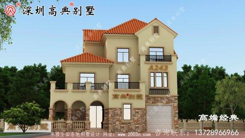 中国最漂亮的三层别墅