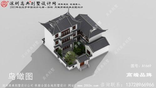 新中式别墅 ,色调 和