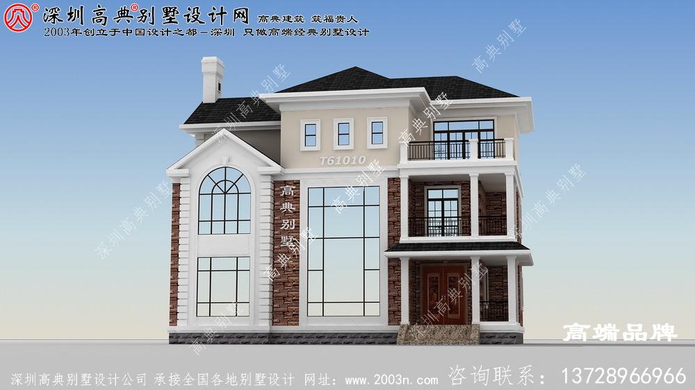 私人定制的三层别墅设计图,高贵大气,让人心生向往
