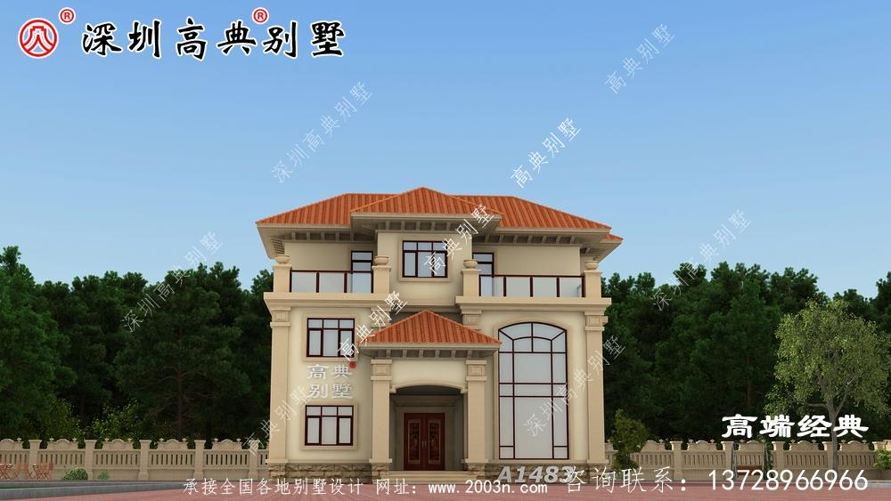 漂亮的三层别墅,建一栋给后代留一笔财富