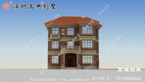 农村建房三层图片简单